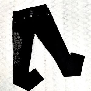 True Religion Skinny Studded Jeans 28